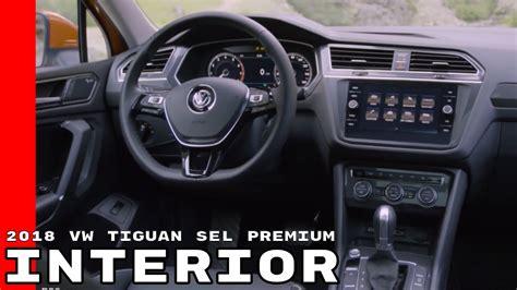 volkswagen tiguan white interior 2018 vw tiguan sel premium interior