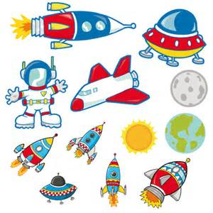 spacecraft and astronaut space kit