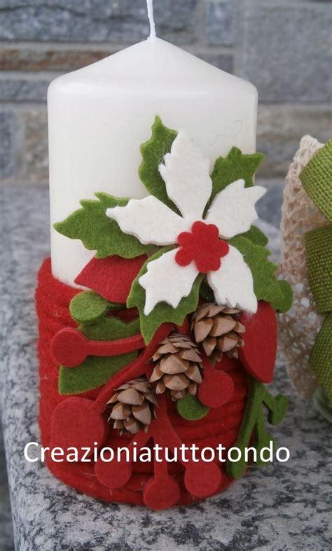 decorare candele natalizie oltre 1000 idee su decorare candele su candela