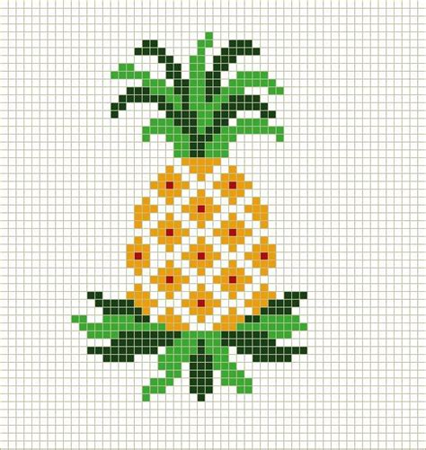 free cross stitch pattern maker from photo stitchbystitch89 basic pineapple cross stitch pattern