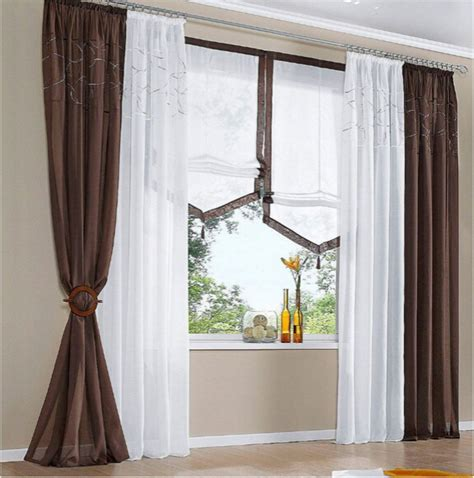 curtains and blinds 4 homes discount code 140cmw europeanism white brown grey color tulle yarn voile