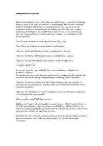 sample veterinary resume 2