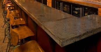 Backyard Bars Designs by Concrete Countertops In Restaurants And Bars The