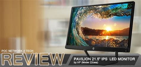 Lcd Monitor Led Hp N270 Ips 27 Inch Hdmi Fullhd review hp pavilion 22cwa 21 5 in ips led monitor poc network tech
