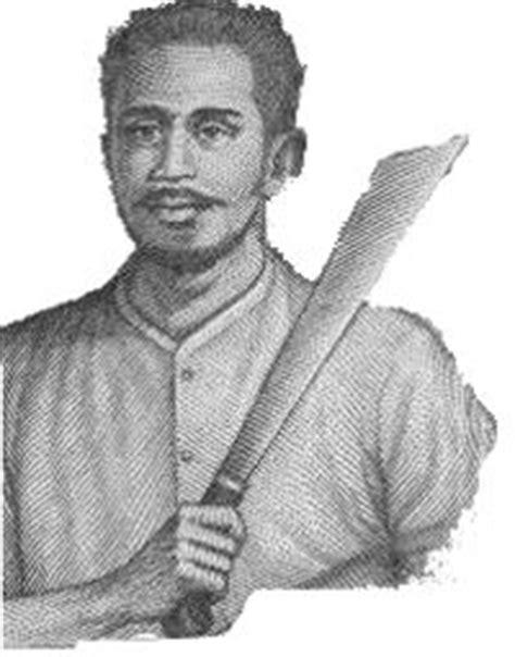 biografi kapitan pattimurah thomas matulessy pattimura fascinatie heroes pinterest