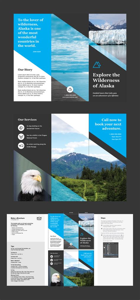 Professional Brochure Templates Creative Cloud Blog By Adobe Brochure Layout Template