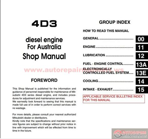 small engine repair manuals free download 1998 mitsubishi challenger parking system mitsubishi canter 4d34t3 diesel engine shop manual auto repair manual forum heavy equipment