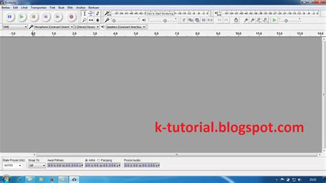 tutorial html download tutorial download audacity versi terbaru dan instal