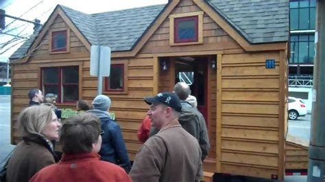 tiny house tour new addition youtube seattle tiny homes tour a small cabin house w deek jay