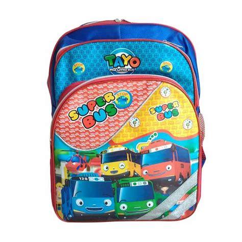 Saleeee Tas Sekolah Anak Backpack Anak jual tayo 0930010525 backpack tas sekolah anak