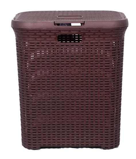 33 Off On Inside Designs Brown Laundry Basket On Snapdeal Brown Laundry