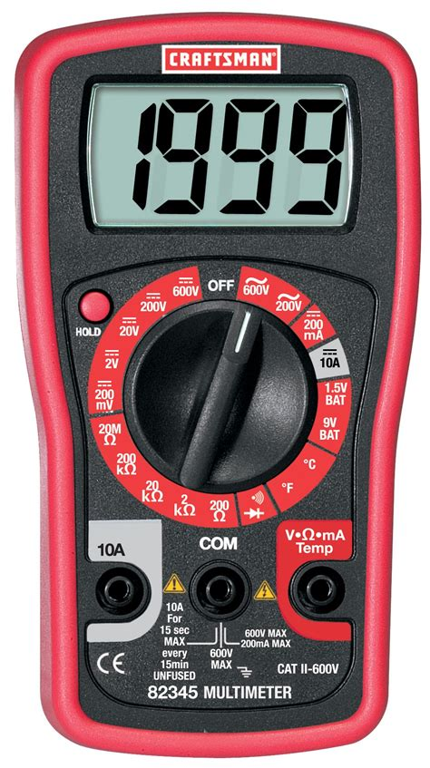 Multimeter Mini craftsman digital mini multimeter tools electricians