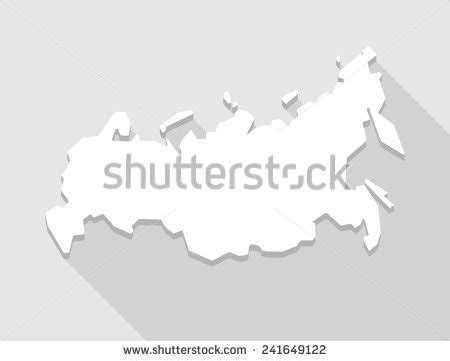 russia maps blurred russia map on blurred background silhouette stock vector