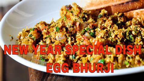 new year 2018 food recipes indian scrambled eggs recipe spicy masala egg bhurji new