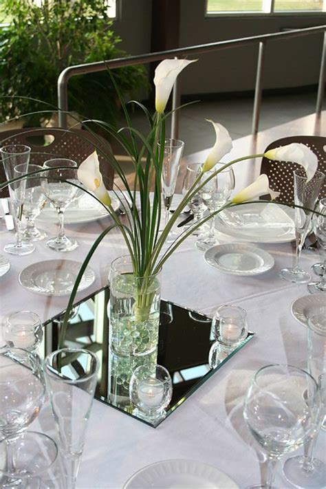 31 Best Images About Flowers On Pinterest Fresh Cream Calla Table Centerpieces