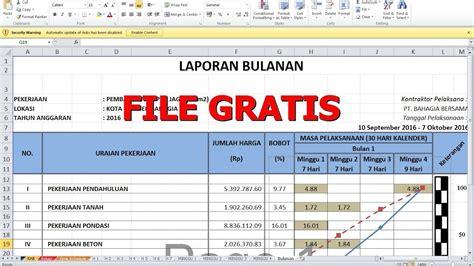 cara membuat laporan invoice cara membuat laporan bulanan proyek konstruksi file