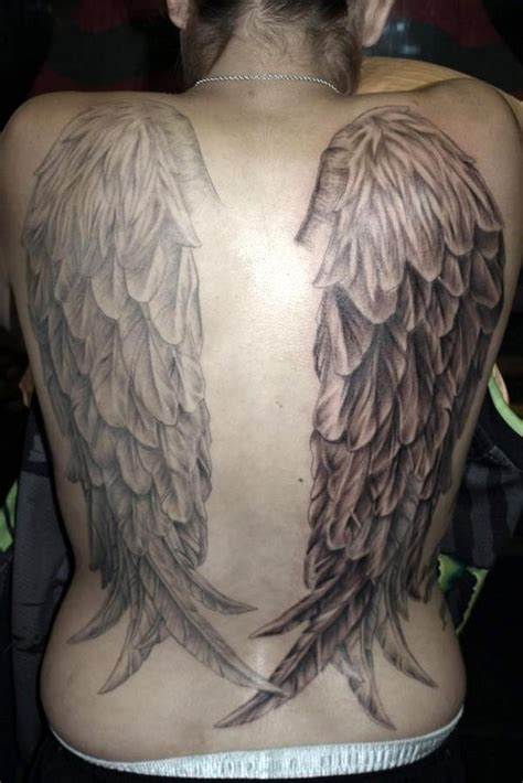 tattoo pictures angel wings angel tattoos are classic and popular