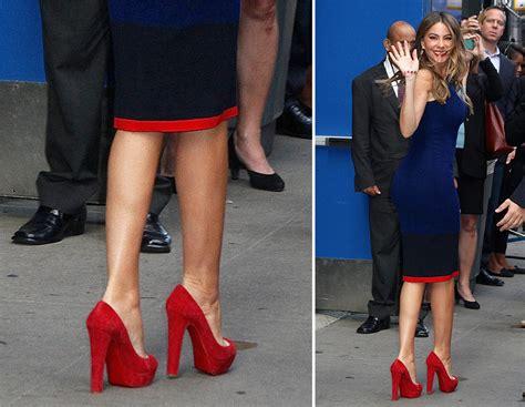 Sepatu High Heels Valentino Casual Replika sofia vergara platform sandals and pumps no matter the occasion purseblog