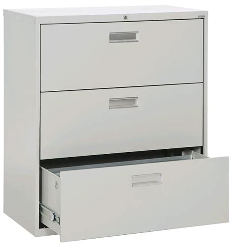 sandusky lateral file cabinet 3 drawer 36 quot w lf6a363 00 file cabinets worthington direct Lateral 3 Drawer File Cabinet