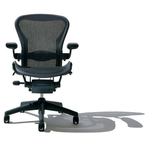 herman miller fully loaded size  aeron office chair graphite ebay