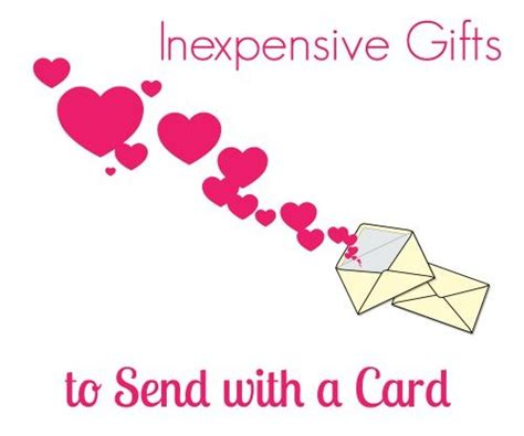 Inexpensive Gift Cards - inexpensive gifts to send with a card handmade kidshandmade kids