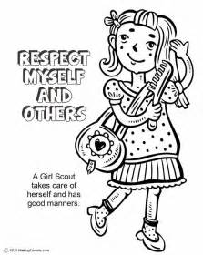 scout coloring pages scout coloring page responsible for what i do