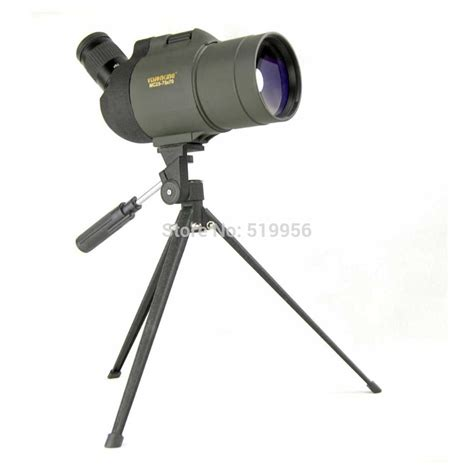 Tripod Zoom free shipping visionking 25 75x70 mak zoom spotting scope