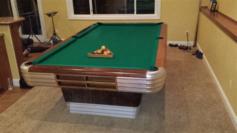 Brunswick Centennial Pool Table by Brunswick Centennial Build With New Cloth In Colorado