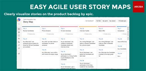 easy agile user story maps  jira version history