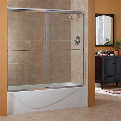 Cove 1/4? Frameless Sliding Tub Doors   Foremost Bath