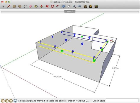 Sketchup Layout Snap To Grid | lightup working with lightmeter grids