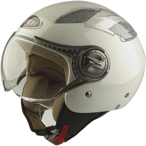 Mofa Helm by Viper Rs 16 Open Motorcycle Motorbike Scooter Moped