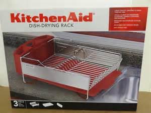 new kitchenaid dish drying rack 3 dish drainer