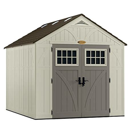 amazoncom suncast    tremont storage shed