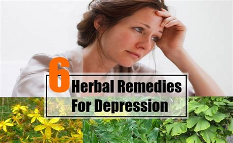 6 best herbal remedies for depression herbal remedies