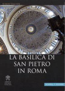 libreria tedesca roma la basilica di san pietro in roma ediz tedesca libro