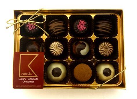 Luxury Handmade Chocolates - kneals chocolates shop