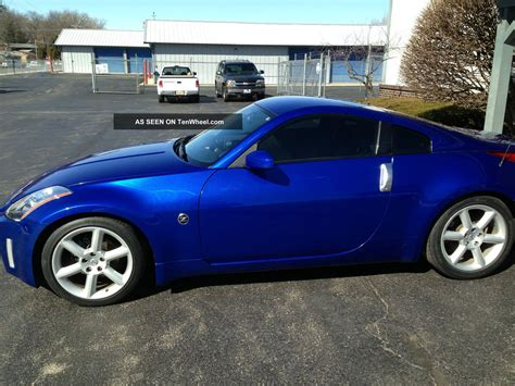 blue nissan 350z with black rims 2003 nissan z nissan 350z 2003 car review honest john