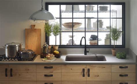 Best Kitchen Faucet Reviews by Faucet Com K 596 Bl In Matte Black By Kohler