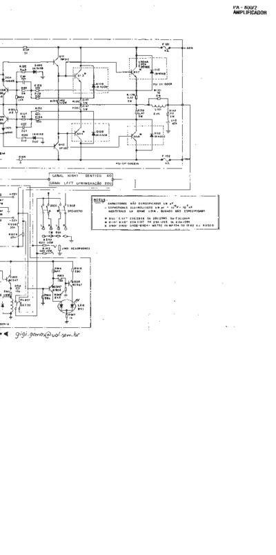 cygnus amplificador pa  service manual repair schematics