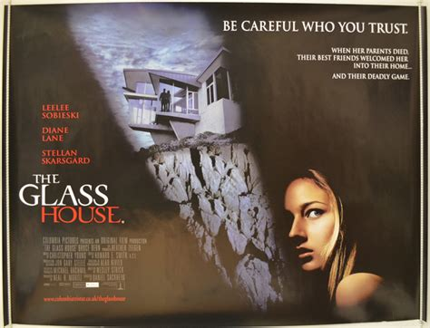 the glass house movie the glass house 2001 original quad movie poster diane lane leelee sobieski ebay