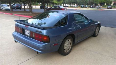 1990 mazda rx 7 purchase used 1990 mazda rx 7 gtu coupe 2 door 1 3l in austin texas united states for us