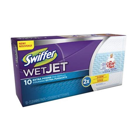 swiffer wetjet extra power pad refills walmart ca