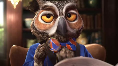 the owl in that eye glasses commercial geico wgu xyzal america s best owl 2017 commercial