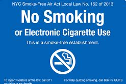 no smoking sign nyc complying with smoking laws letter grade consulting