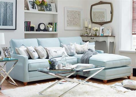 light blue sectional sofa light blue sectional sofa 187 adina light blue fabric flared