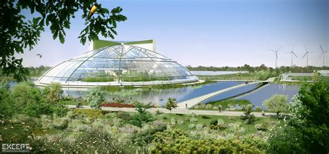 modern green house except integrated sustainability portal to venlo