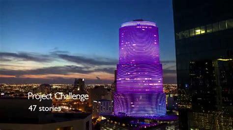 color kinetics color kinetics rgb miami tower