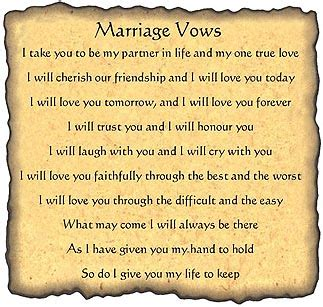marriage beautiful lifelong and intimacy start with you books traditional wedding vows quotes quotesgram