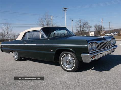 Chevrolet 1964 Impala 1964 Chevy Impala Ss Convertible